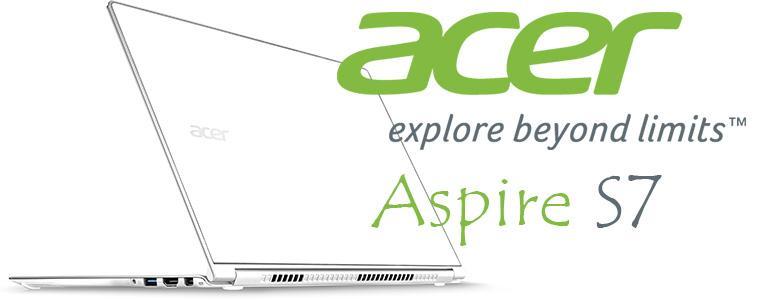 لپ تاپ استوک ایسر Aspire S7-393