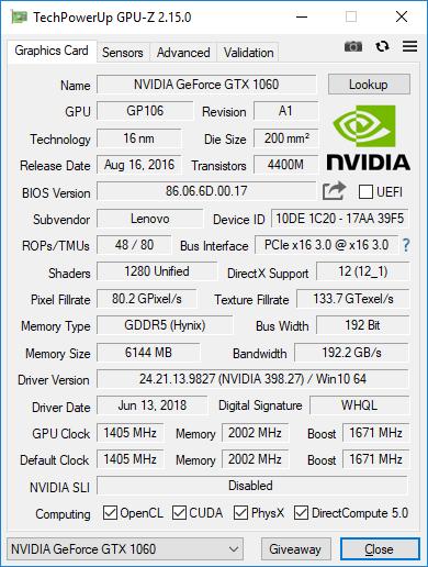 لپ تاپ Lenovo Legion Y7000 Gaming