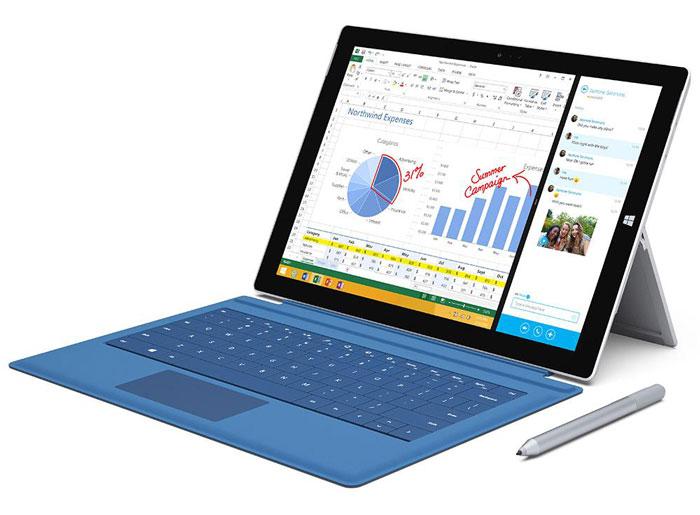 تبلت مایکروسافت surface pro3 i5 8gb