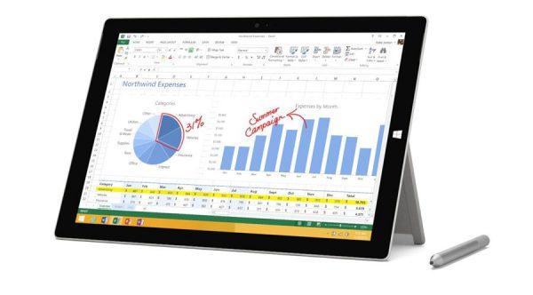 تبلت استوک Surface Pro 3 i5