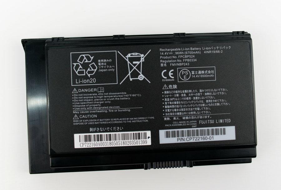 Fujitsu Celsius H980 باتری