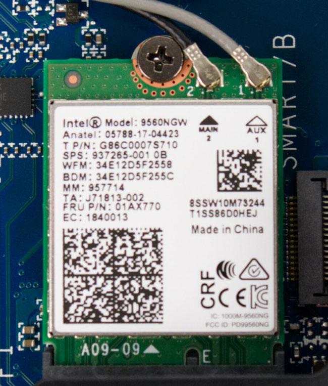Fujitsu Celsius H980 WIFI
