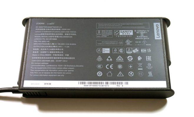 شارژر Lenovo ThinkPad P53