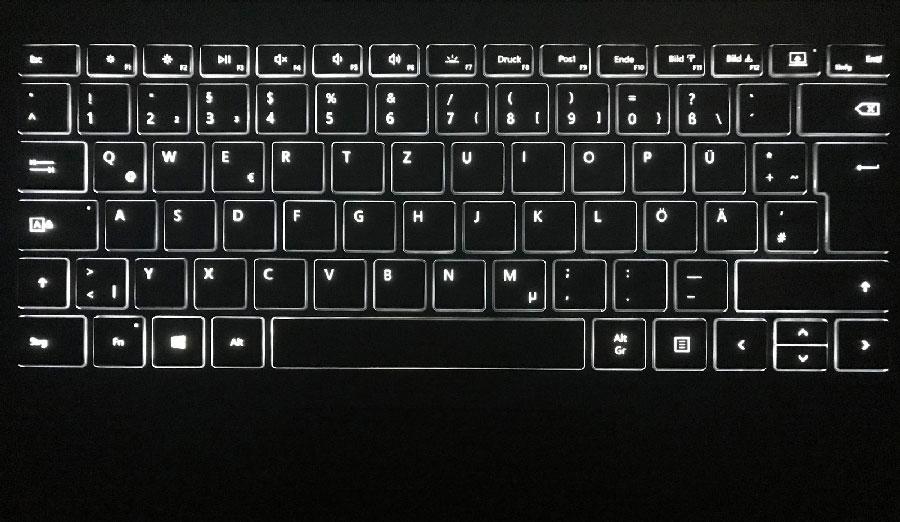 BACKLIGHT-KEY Surface Book 2 CORE i7