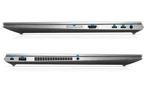 HP ZBook Studio G7 ports